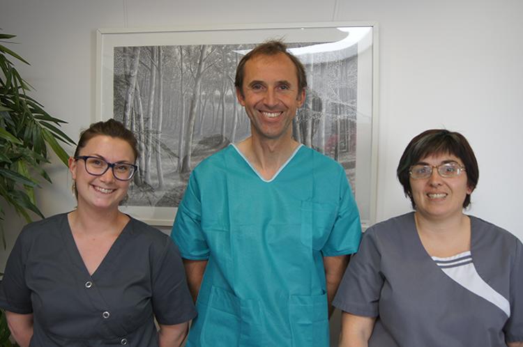 Équipe du cabinet dentaire